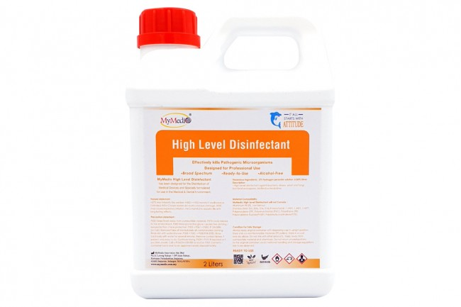 High Level Disinfectant 2L
