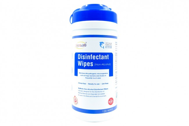 Disinfectant Wipes (Alcohol) 120 Wipes